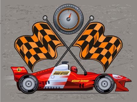 racecar: Formula race car