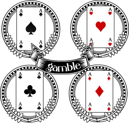 royal house: Four aces