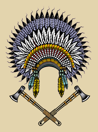 bonnet: Native american war bonnet