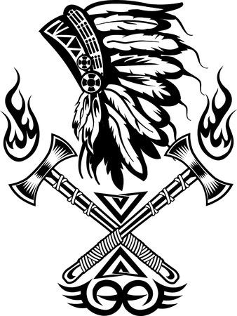 tomahawk: Indian chief tomahawk