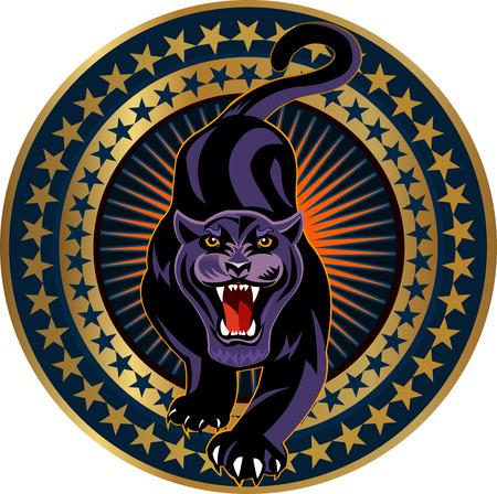 panther: Panther logo