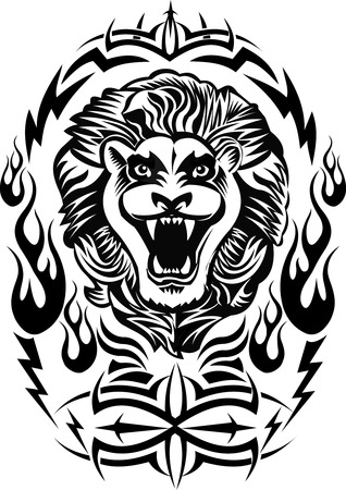 King Lion Tatoo