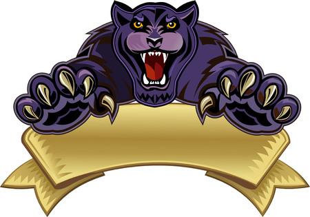 Black Panther  イラスト・ベクター素材