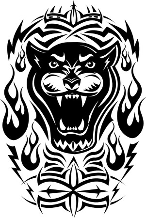 fang: Black panther Tattoo