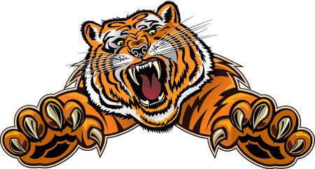 puma: Tiger Jump Illustration