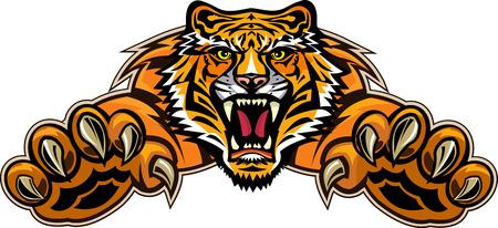 Тигр прыжок