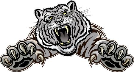 Sprong van de tijger