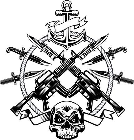 combat: Skull tattoo Combat