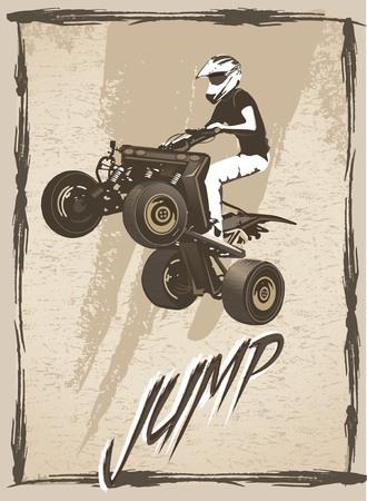 atv: ATV jump