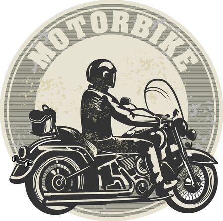 joyride: man on the motorbike