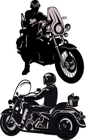dangerous man: man on the motorbike