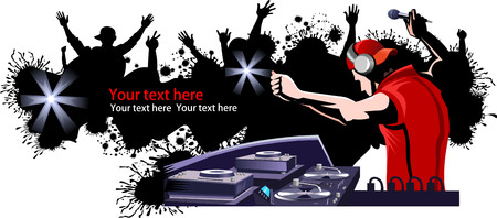 DJ and party