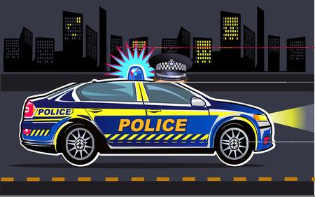 wheel guard: Police Car