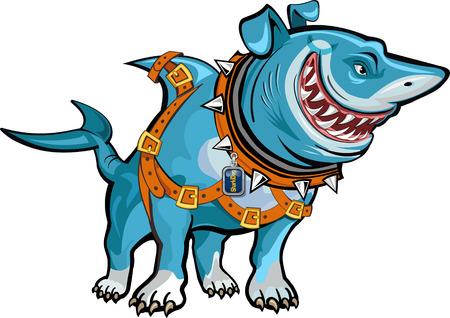 Shark of een hond