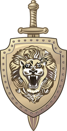 knightly: Lion of shield
