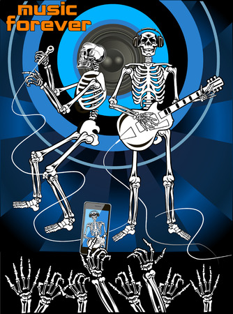 duo: Skeleton music  and party