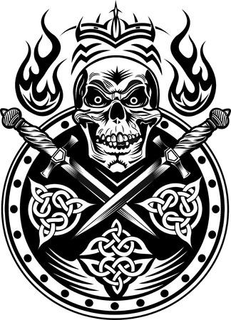 dagger: Dagger & Skull