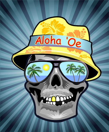 swooping: Skull Aloha