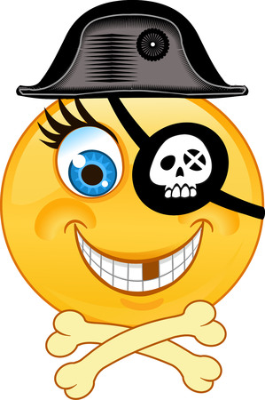 Emoticon of Pirate