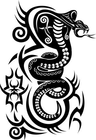 Snake Tattoo Cobra