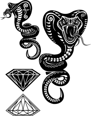 king cobra: Snake Tattoo Cobra