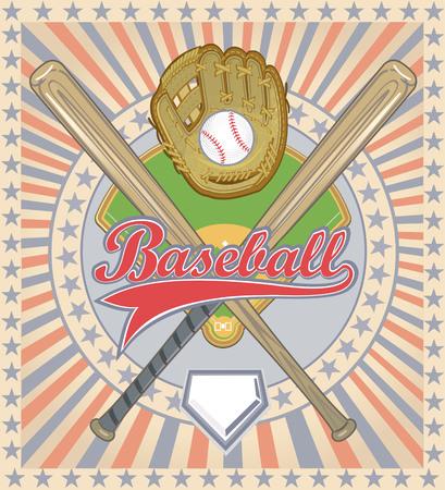 league: Baseball Game label