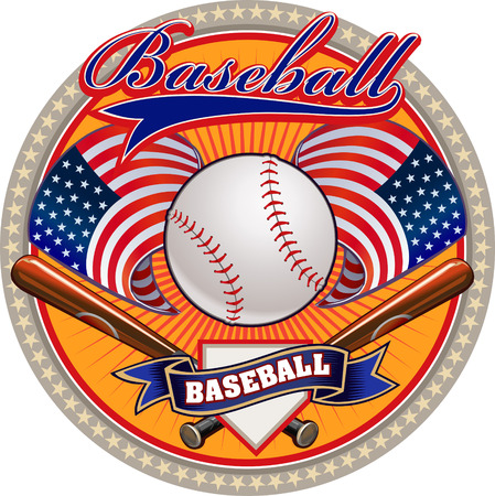 team sports: Baseball label