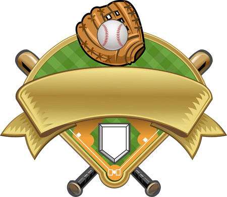 baseball base Illustration