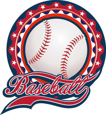 sports glove: Baseball label