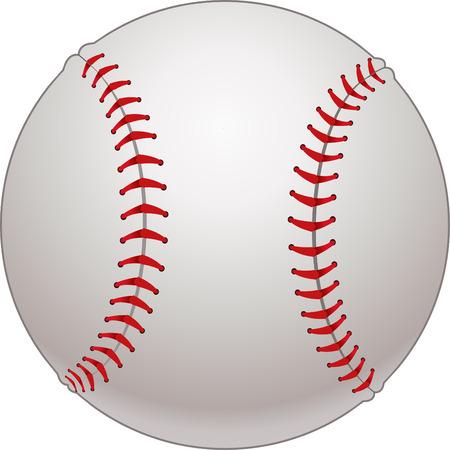 Balle de baseball  Vecteurs