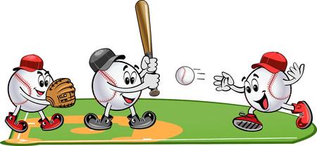 Baseball pitcher throws ball. Square shot