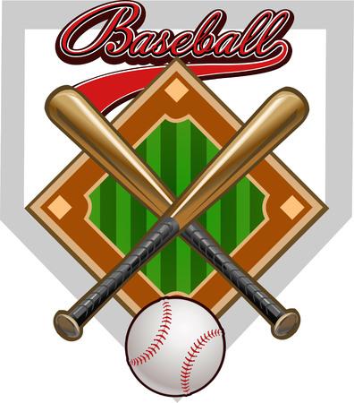 étiquette de base-ball