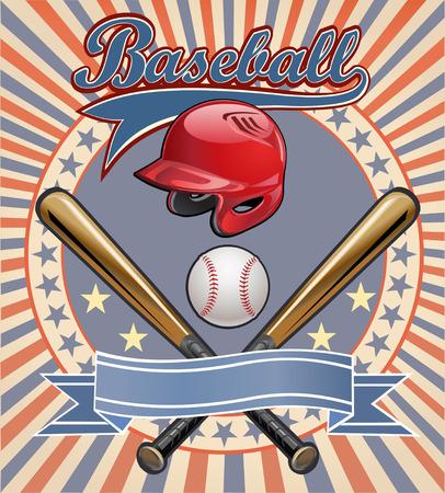 champion de base-ball. Baseballs étiquette