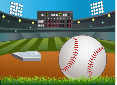 honkbal score