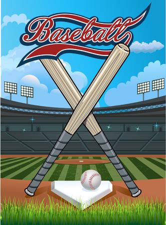 pitchers mound: Baseball stadium