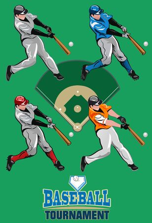 one person only: Baseball tournament