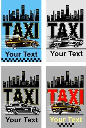 llamando: tarjeta de llamada Taxi pronta