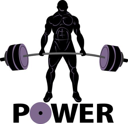 levantamiento de pesas: levantamiento de pesas de energía
