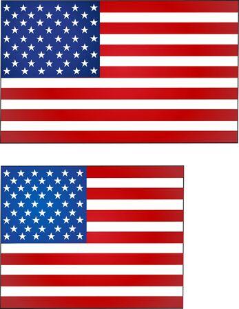celebrities: United Stated flag