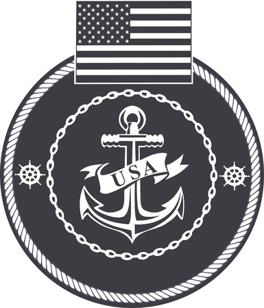 미 해군 일러스트