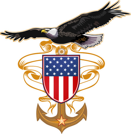 US Navy Eagle Çizim