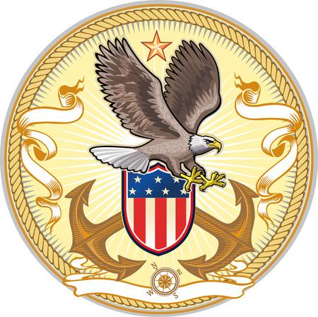 La marina de guerra de Eagle