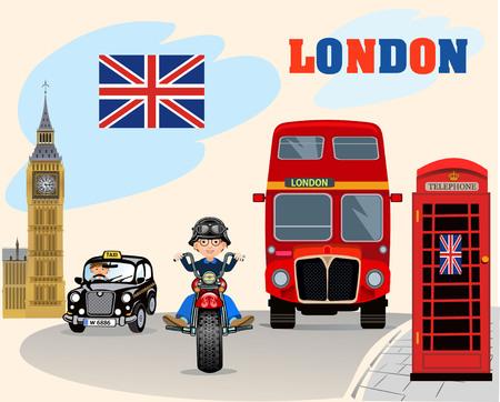 britannia: English London road