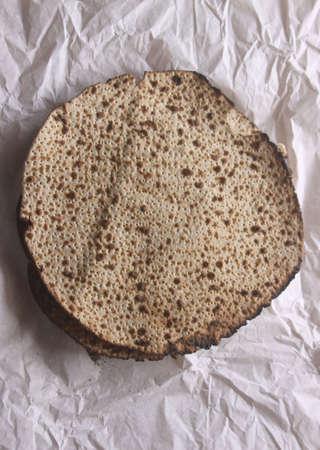 jewish: Pesah celebration concept (jewish Passover holiday) matza Stock Photo