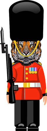 Tiger guard Illustration