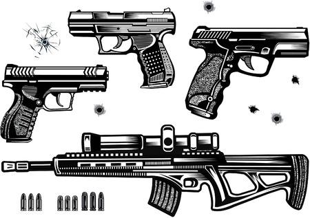Guns: pistol