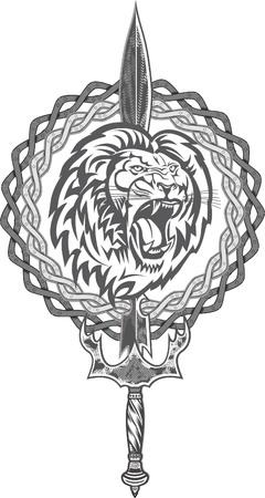 King Lion Tattoo