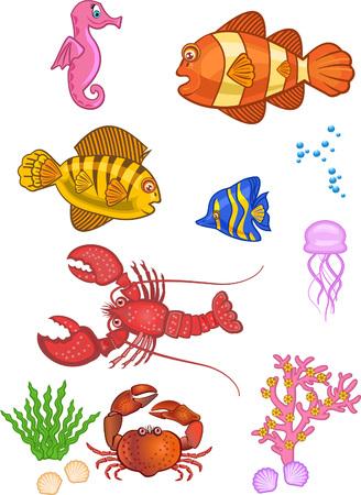 Aquatic elements icon