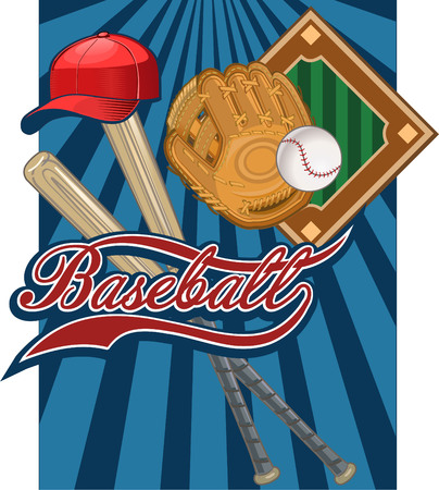 Baseball Game label