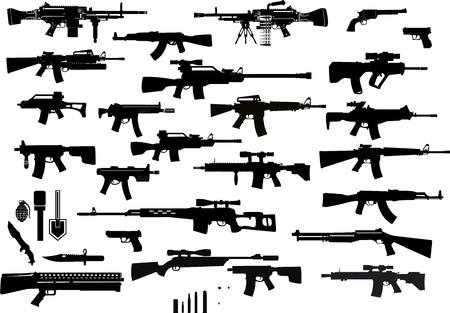 Armas: antiguas y modernas Foto de archivo - 101785070